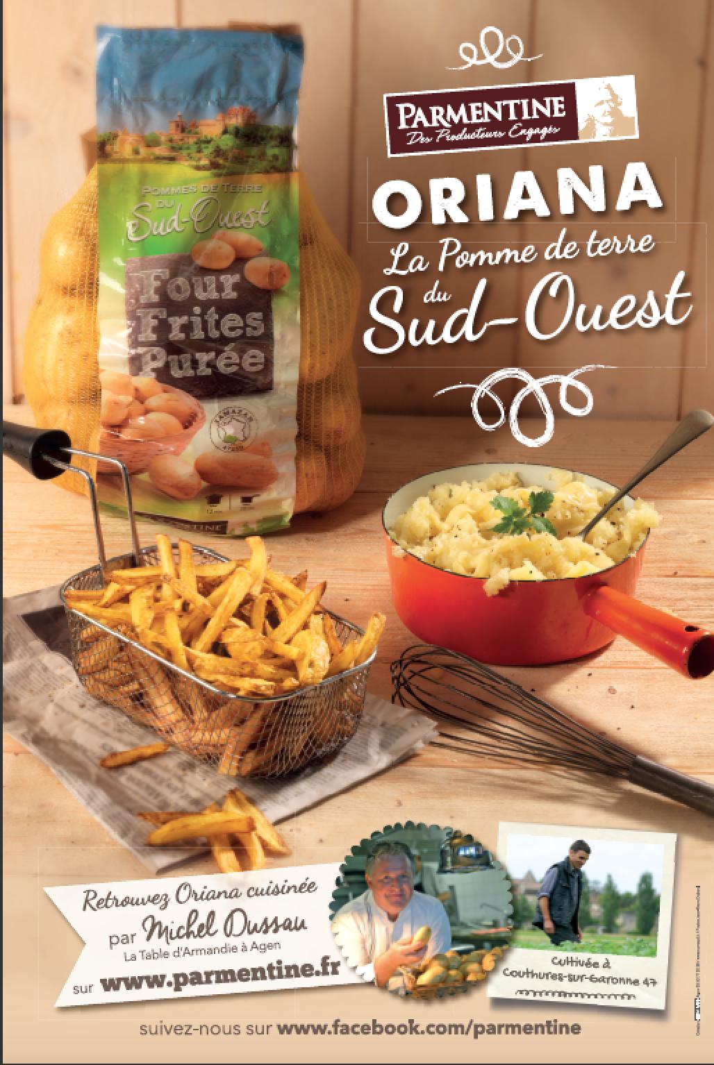 affiche oriana du sud ouest