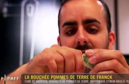 Franck top chef pomme de terre